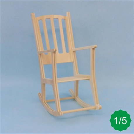 Rocking chair 1/4ème en kit