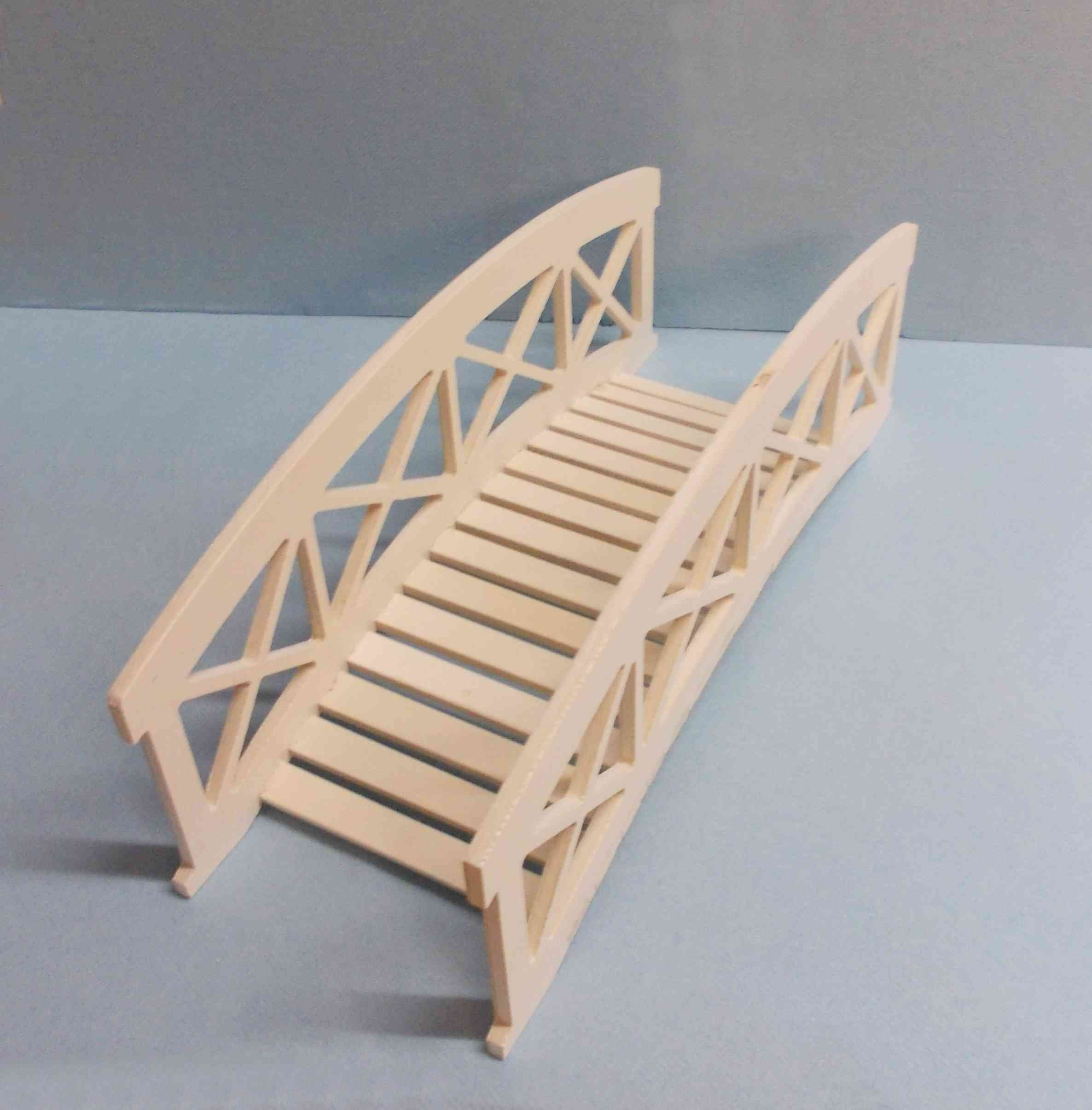 Brouette miniature 23cm en bois en kit, assemblée et collée, à ...