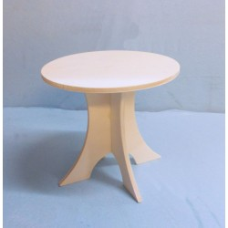 Table ronde miniature