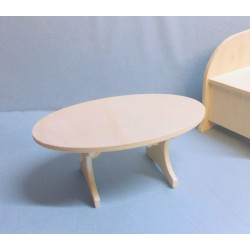 Table basse salon miniature en kit