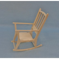 Rocking chair 1/6ème en kit