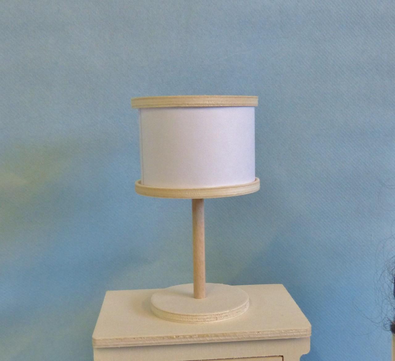 Monter Une Lampe De Chevet lampe de chevet miniature 1/6ème en kit